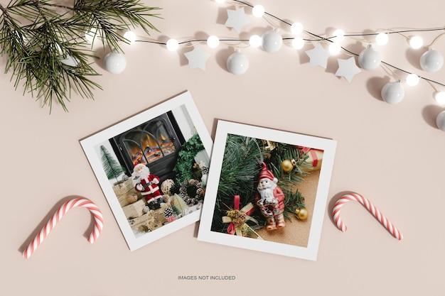 С рождеством христовым поздравительный флаер макет