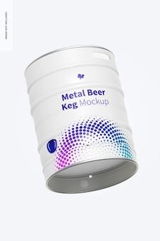 金属ビール樽モックアップ