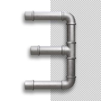 Metal pipe, number 3