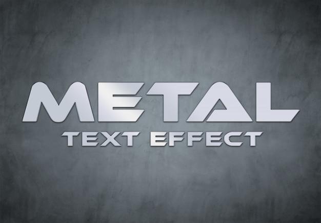 Стиль металлического текста