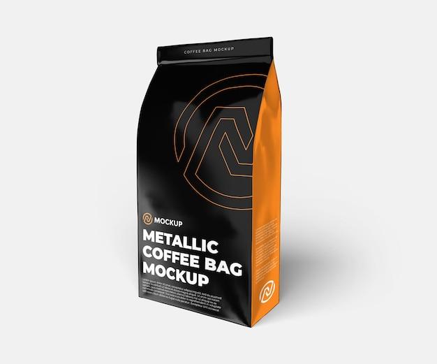 금속 커피 가방 모형