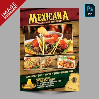 Mexicana food promotion