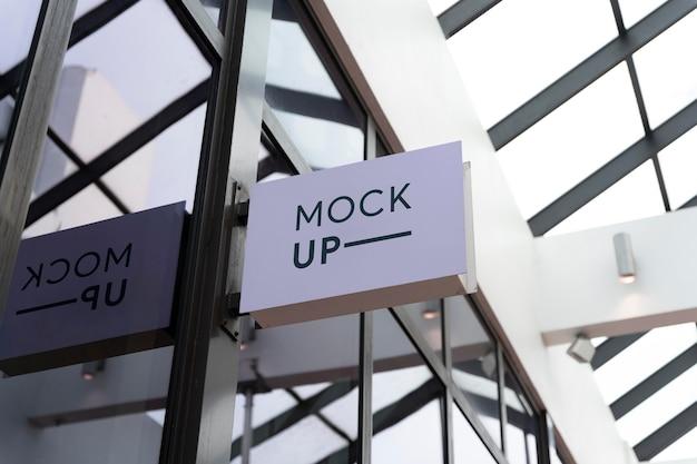 マイアミのストリートビジネスがモックアップに署名