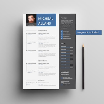 Micheal resumeテンプレート2019