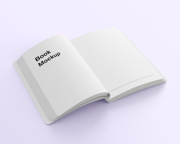 Книжный макет средней складки