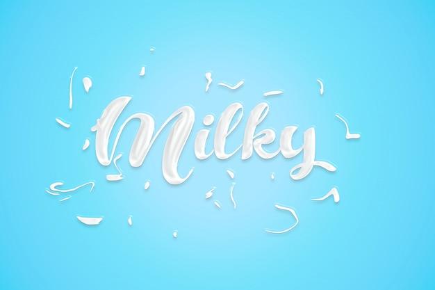 Milky style