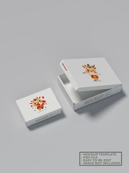 Макет упаковки мини-коробки