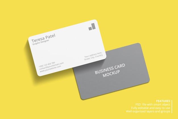 Минимальный дизайн макета визитки