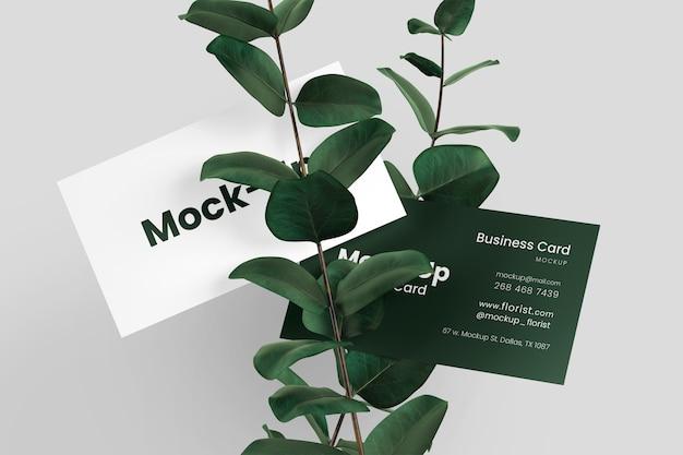 Minimal business card mockup Premium Psd