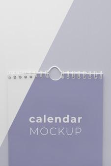 Minimal calendar mock-up assortment