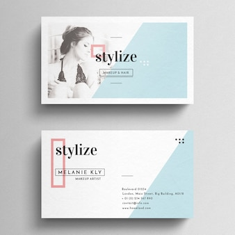 Minimal Clean Business Card Tempalte