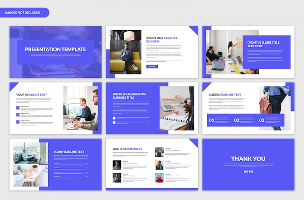 Minimal corporate business slider template