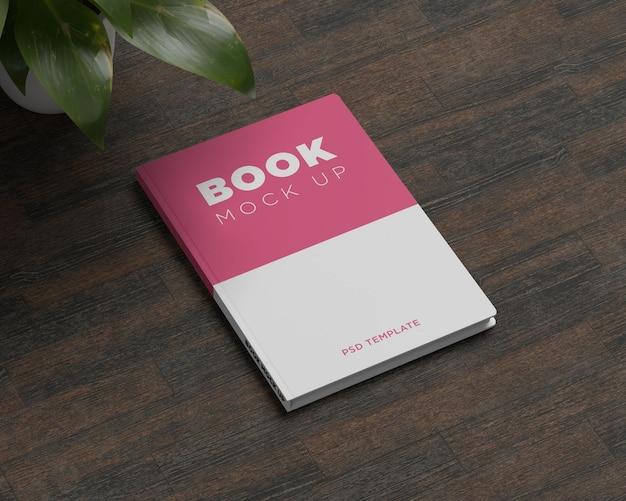 Minimal cover book mockup