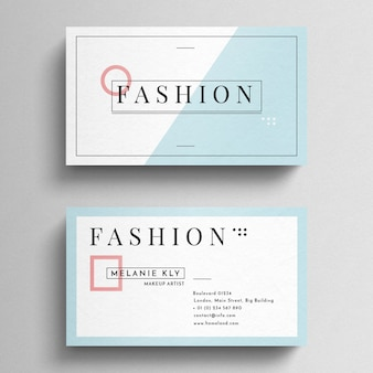 Minimal Fashion Business Card