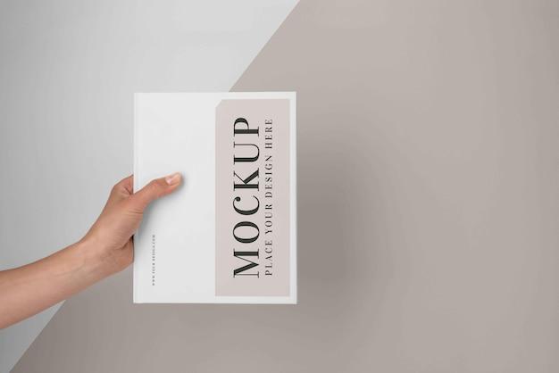 Minimal mock-up book assortment