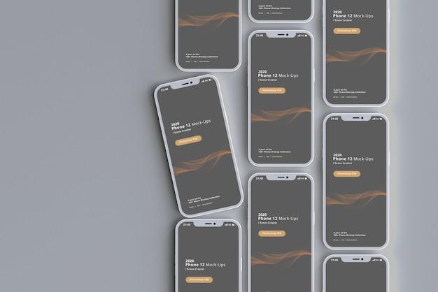 Минимальный макет смартфона