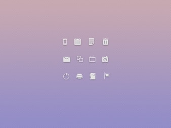 Minimal tech icons
