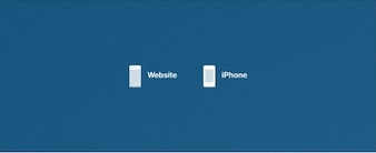 Minimal Website and iPhone Icons