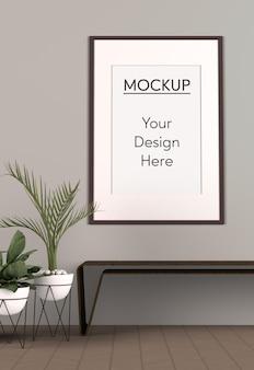 Minimalism concept interior design
