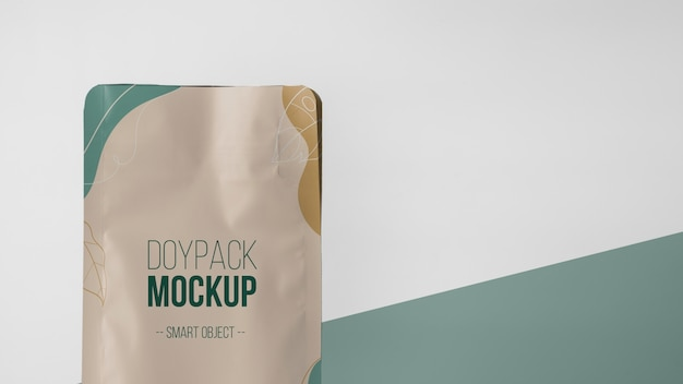 Doypack 모형의 미니멀리스트 구색