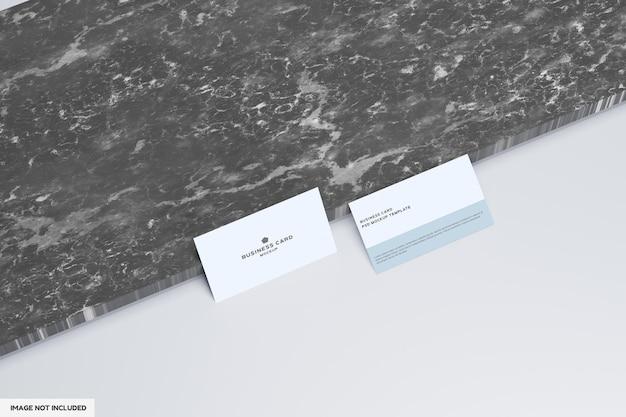 Минималистичный дизайн макета визитки