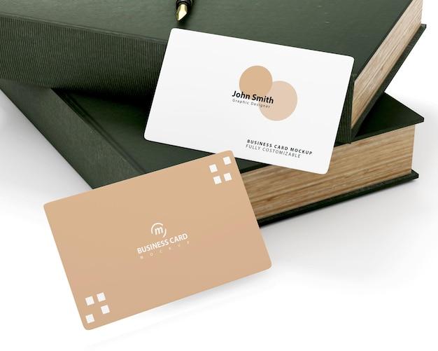 Minimalist business card mockup