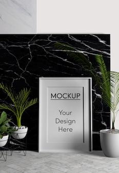 Minimalist design interior arrangement
