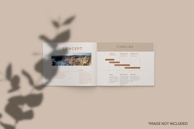 Минималистичный макет журнала
