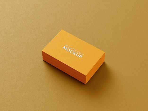 Минималистичный макет визитки
