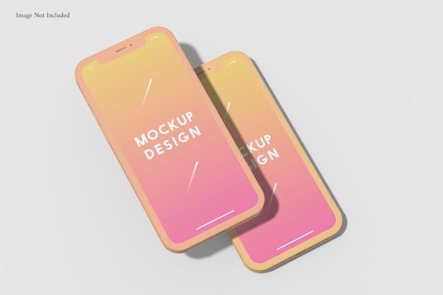 휴대 전화 점토 모형