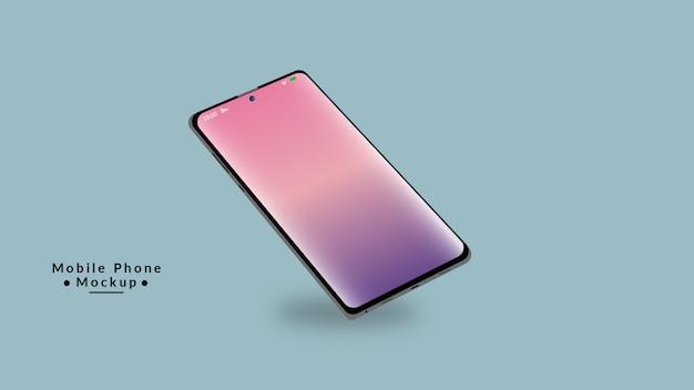 Дизайн макета дисплея мобильного телефона