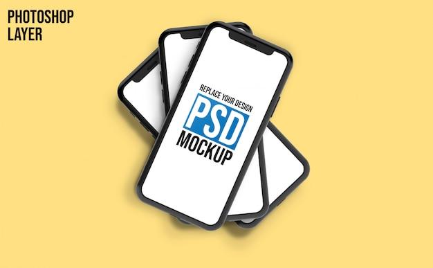 휴대 전화 모형 디자인