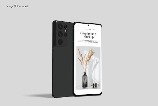 응용 프로그램을위한 휴대 전화 모형