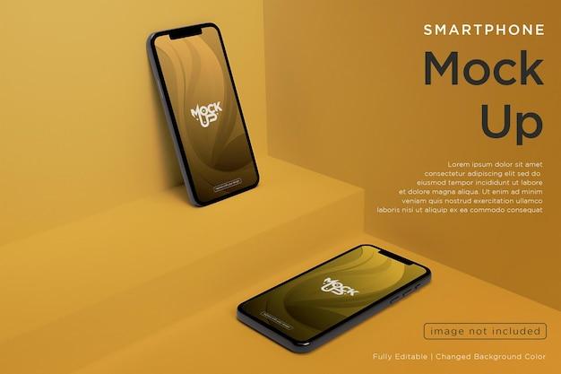 휴대폰 화면 모형 디자인