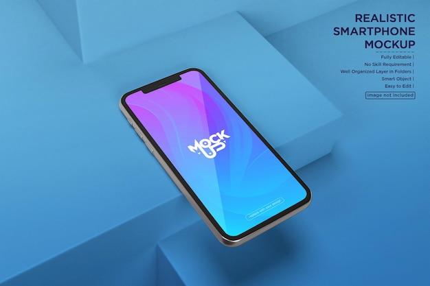 Дизайн макета экрана мобильного телефона