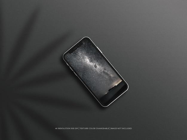 携帯電話の画面モックアップ