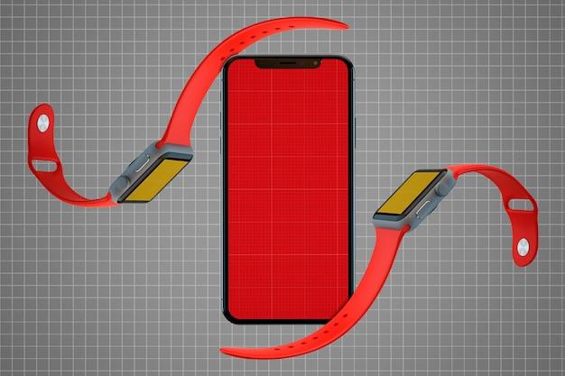 Mobile & watch mockup