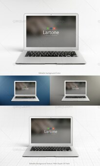 Mock up macbook air