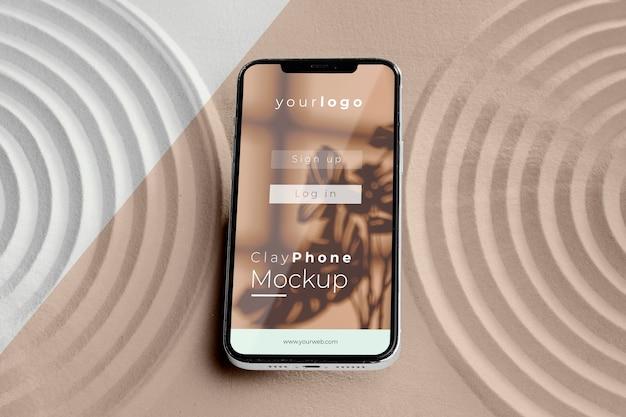 模拟式手机砂组合物