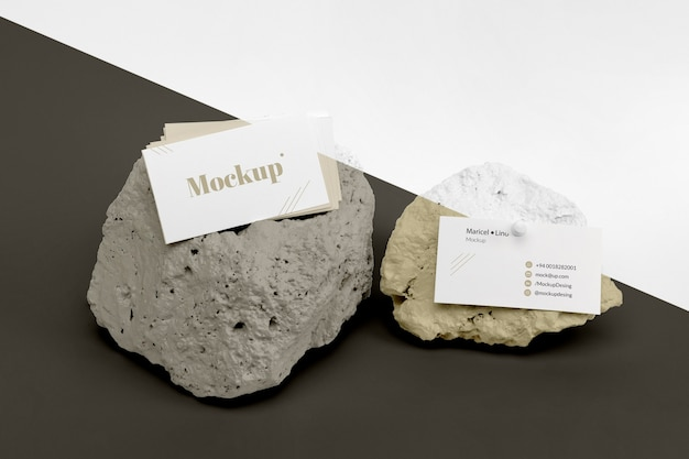 Mock up stones