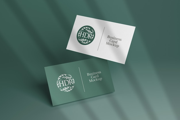 Mockup for different business cards