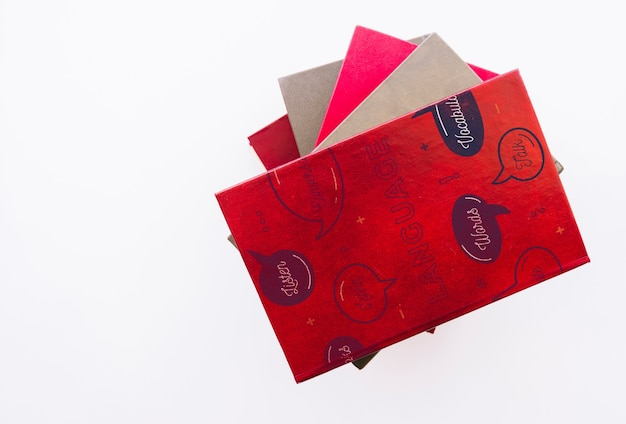 Mockup of folder