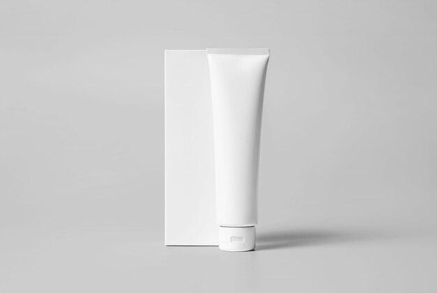 Макет различных пакетов для лица