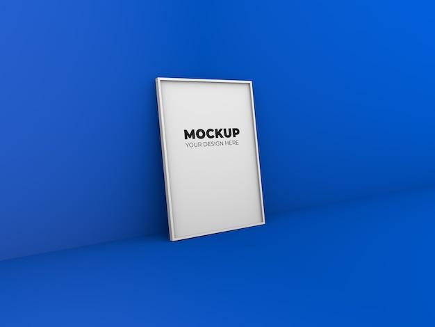 モックアップフォトフレームデザイン