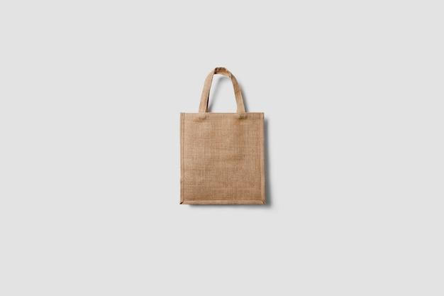 Mockup of tote bag