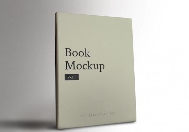 Реалистичная обложка книги mockup w