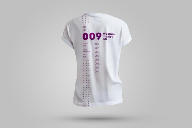 モックアップメンズtシャツ3d