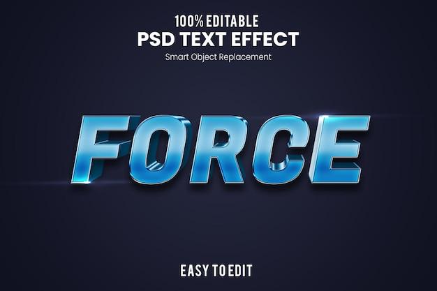 Шаблон оформления современного 3d-текста