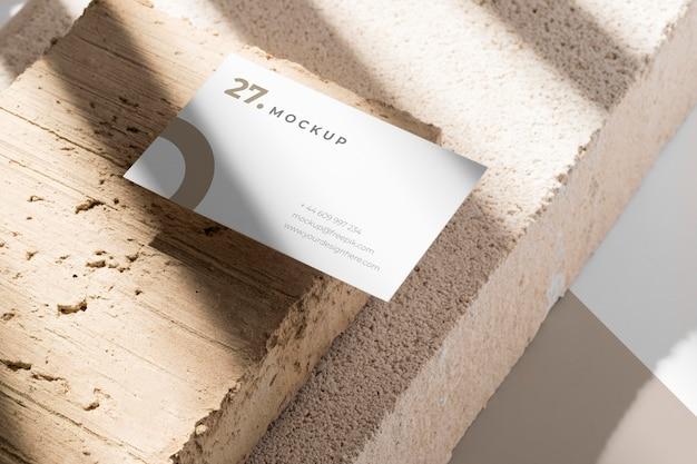 Modern assortment of mock-up business card Free Psd