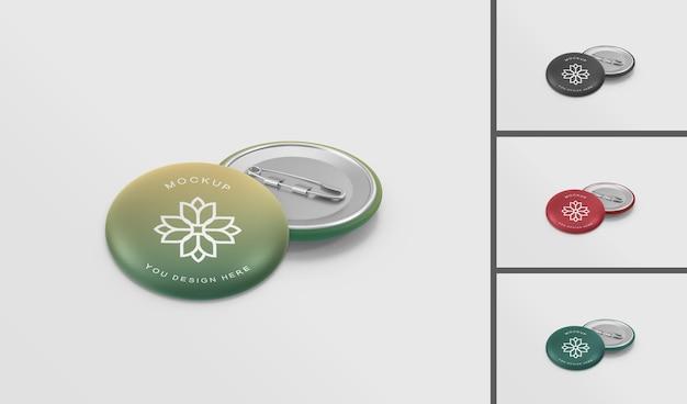 Modern badge mockup